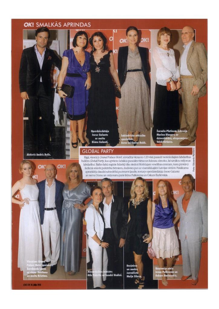 Inese Galante OK Magazine 2013