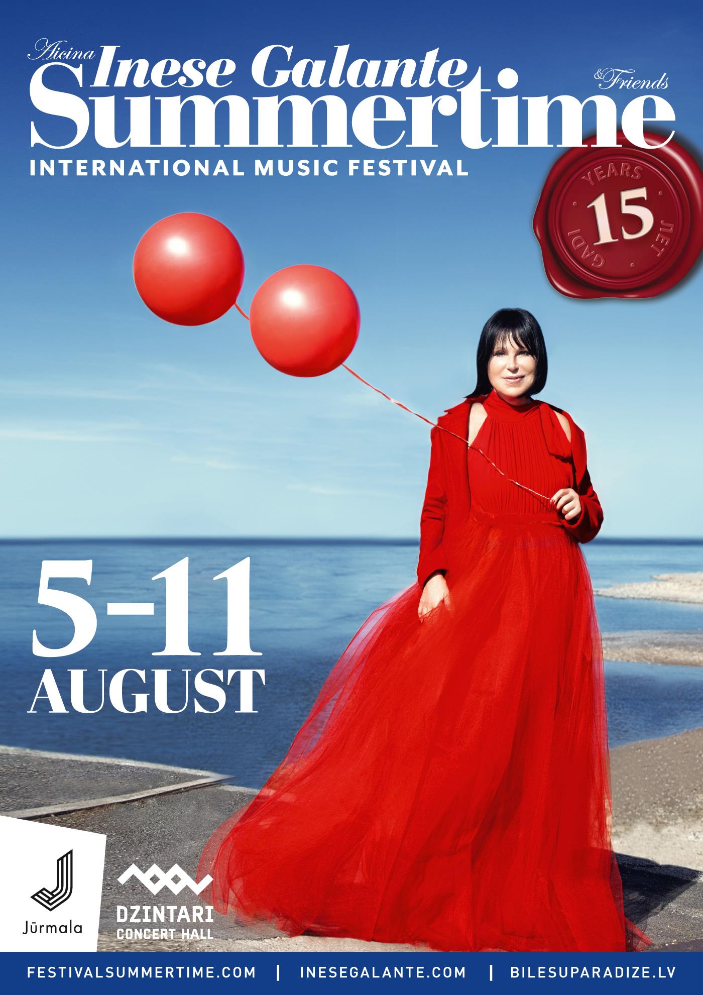 cfd7401a5f Summertime 2019 Inese Galante | Jūrmalā mūzikas festivāls Summertime ...