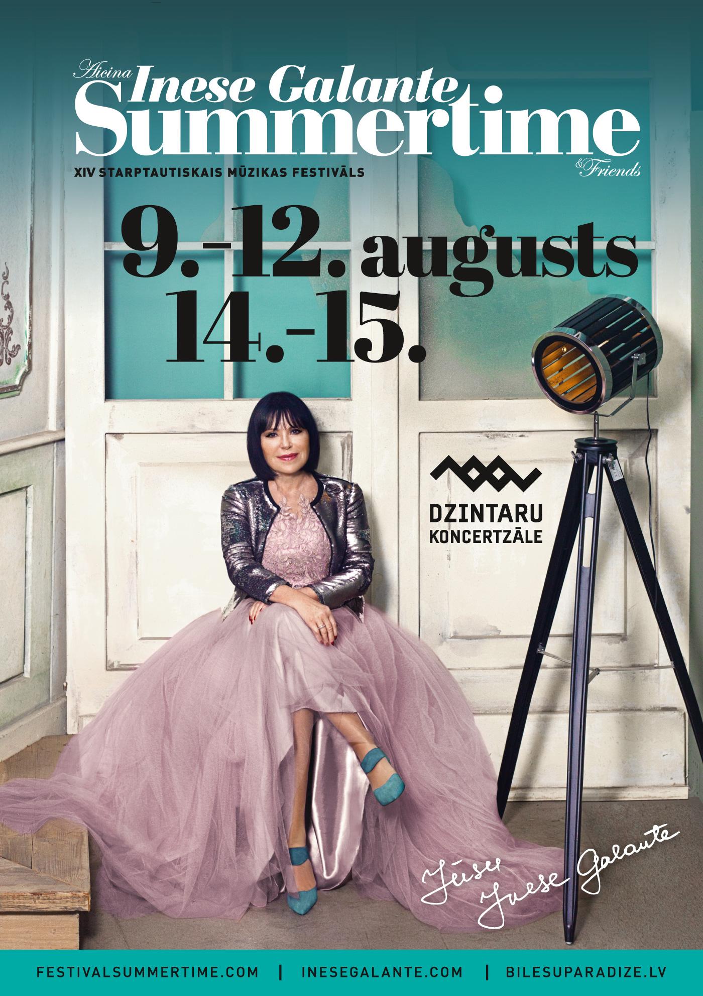 Summertime 2019 Inese Galante   Jūrmalā mūzikas festivāls