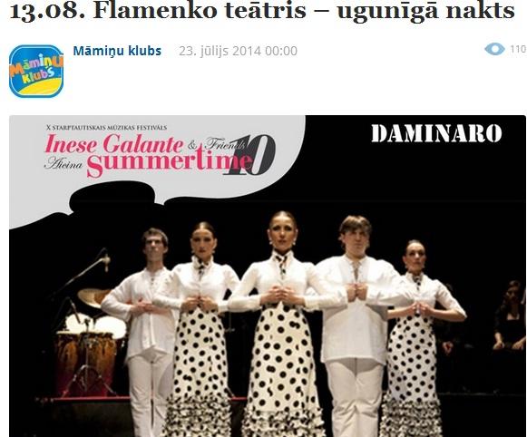 inese galante teatro dominaro spain 2014