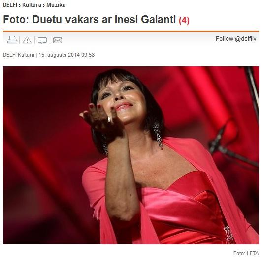 summertime 2014 duetu vakars ar Inesi galanti