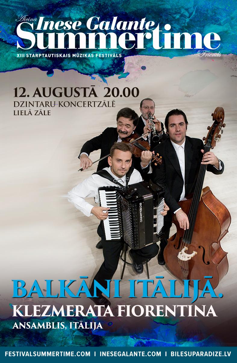 Summertime-aicina Inese Galante Klezmerata Fiorentina